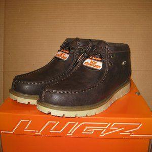 Lugz Elm Boots  Brown/Cream/Gum  MELMGV-2089  10.5